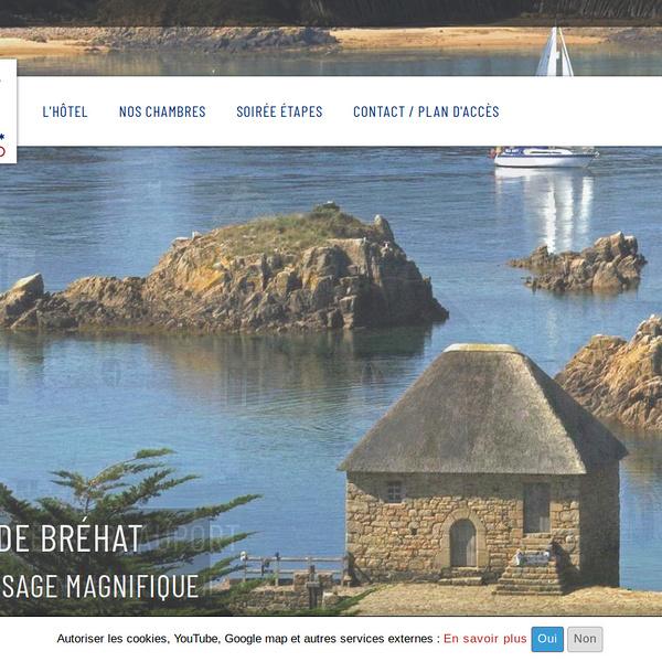 Site Web hôtel Le Goëlo - Paimpol - Côtes d''Armor - Bretagne