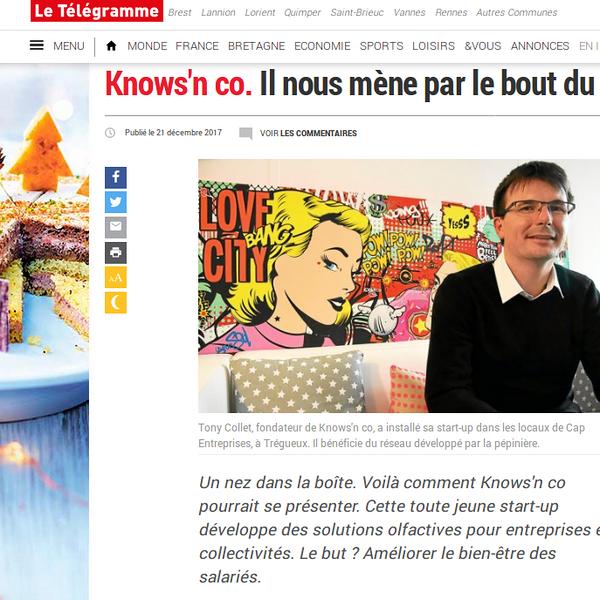 Knows''n Co: le Management de l''Odeur