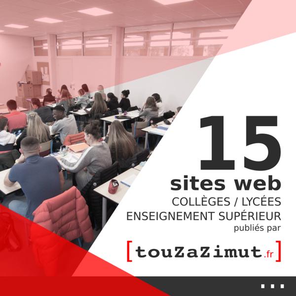 Sites Internet des écoles / collèges / lycées / enseignement supérieur / formations
