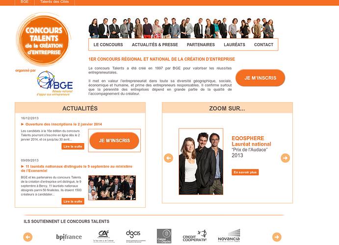 Lancement du grand concours talents 2014 ! 0