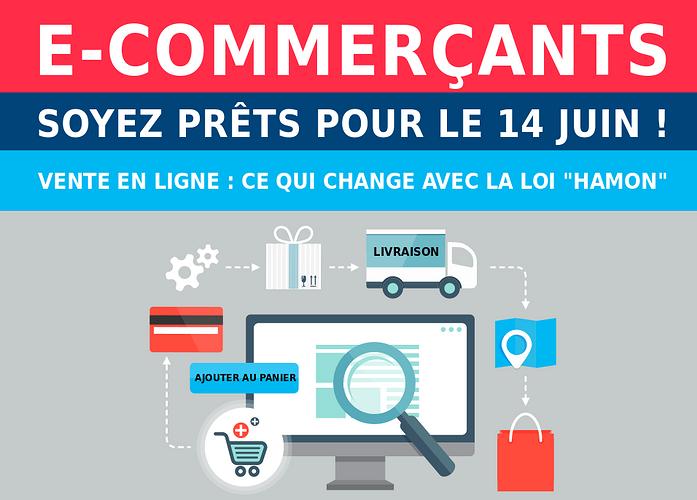 e-commerce : nouvelles régles de la loi Hamon 0