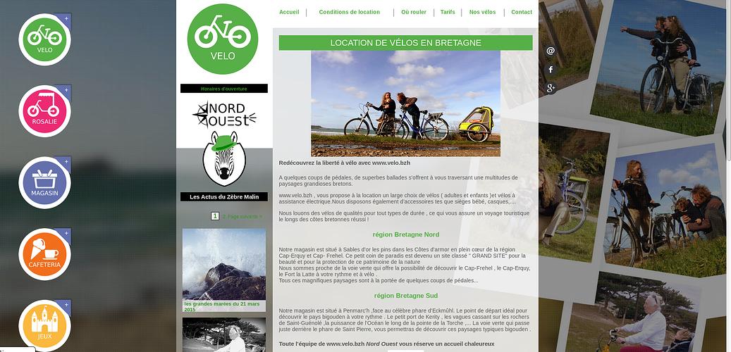 Sables d''Or Loisirs : Rosalie, vélos, magasin, caféteria et jeux ! mush2