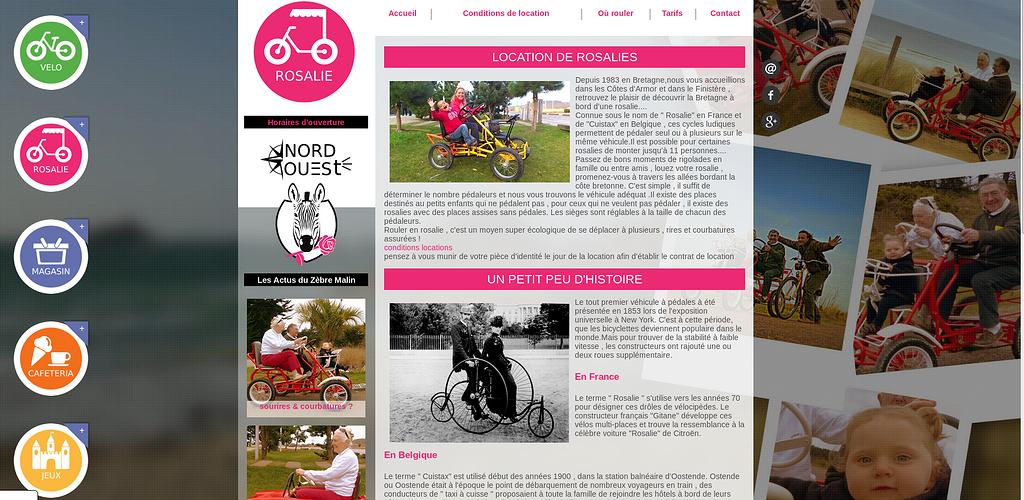 Sables d''Or Loisirs : Rosalie, vélos, magasin, caféteria et jeux ! mush3