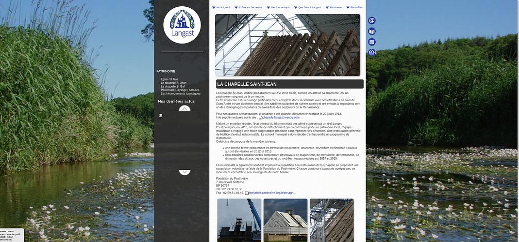 Sites de Mairies et collectivités, en Côtes d''Armor lan