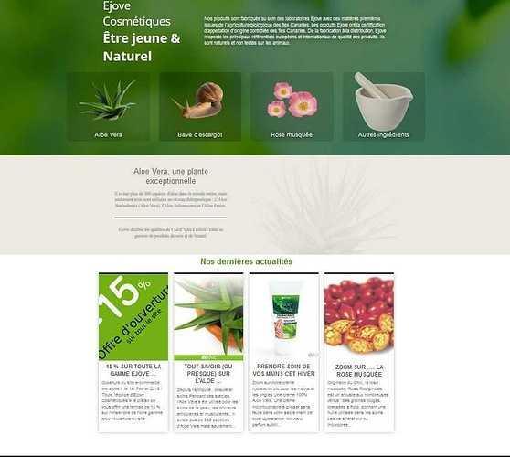 Ejove :e-commerce de produits cosmétiques e2