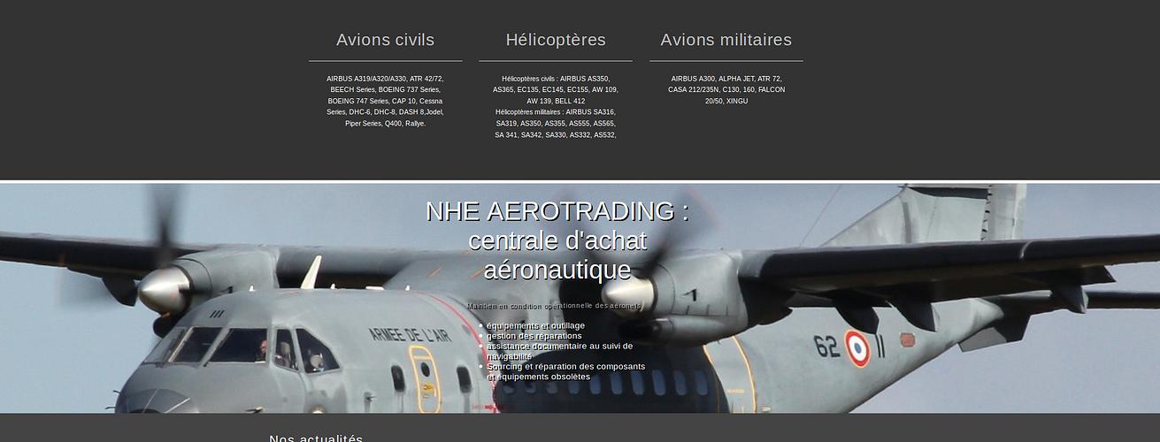 NHE AEROTRADING: centrale d''achat aéronautique nhe2