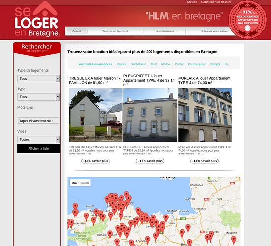 SA BSB Les Foyers - bailleur social : refonte des sites Internet bsbs2