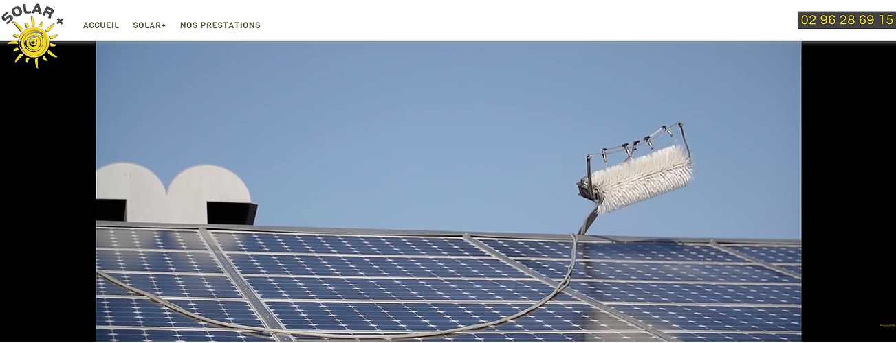 Solar +: Nettoyage panneaux photovoltaïques sur le Grand Ouest sol2