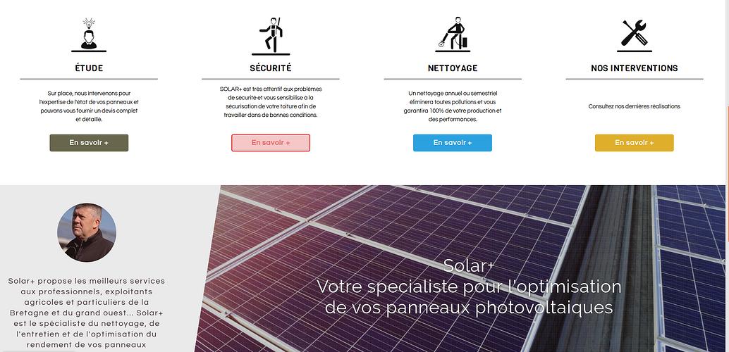 Solar +: Nettoyage panneaux photovoltaïques sur le Grand Ouest sol3