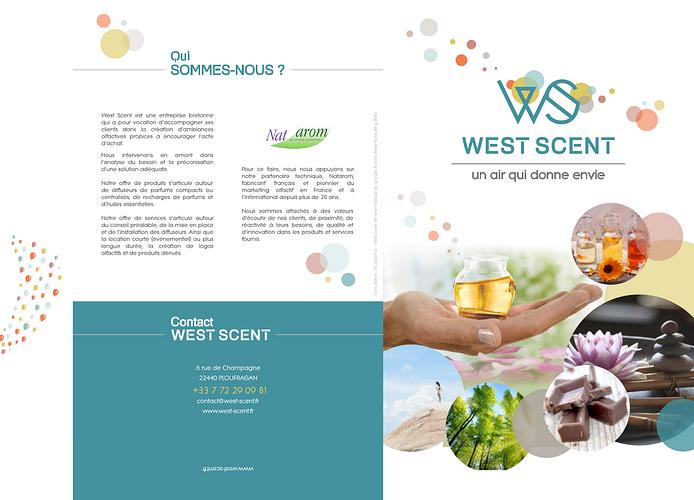 Création charte graphique, plaquette et site Internet West Scent (22) 3plaquette2