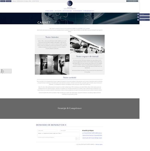 Création site Internet Guillotin & Associés : avocats Rennes-Saint-Brieuc screenshot2018-07-17