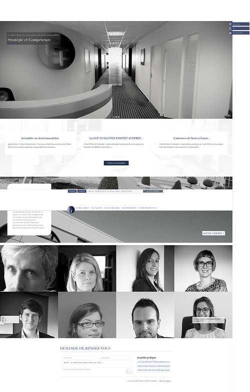 Création site Internet Guillotin & Associés : avocats Rennes-Saint-Brieuc 0