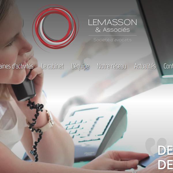 Refonte du site : Cabinet Lemasson et associés
